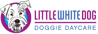 Little White Dog Doggie Daycare Logo